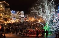 Christkindlmarkt in Leavenworth, Washington