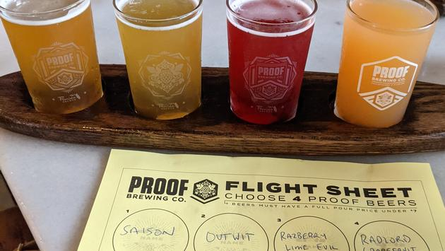 Proof Brewing Co. in Tallahassee, FL