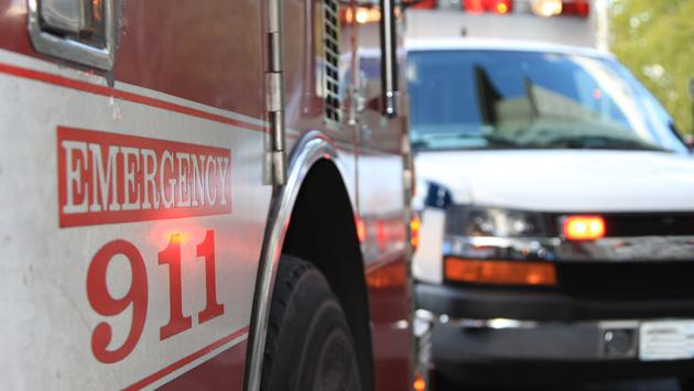 ambulance, firetruck, emergency