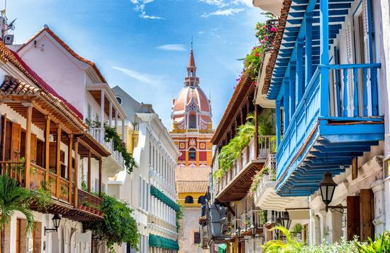 Cartagena colonial architecture
