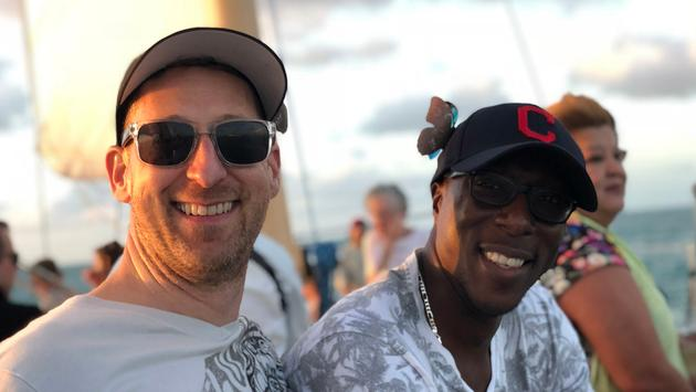 Paul Heney and partner in Key West