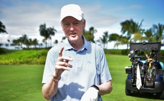 President Bill Clinton in the Dominican Republic