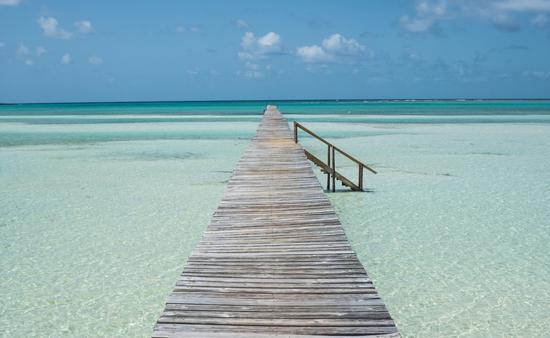 Abaco Island, Bahamas in the summertime