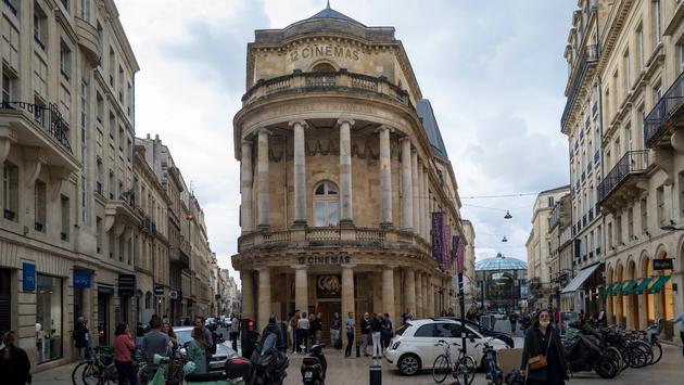 Cinema in Bordeaux, France