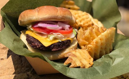 SeaWorld, burger, travel