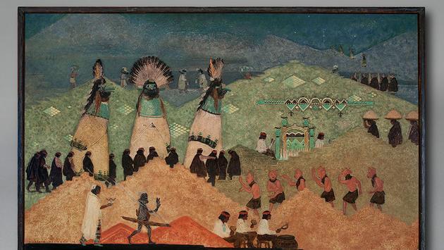 Gustave Baumann, The Shalako
