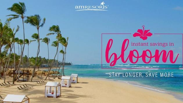 Instant Savings in Bloom: AMResorts