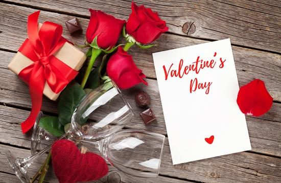 Valentine's Day, romance, V-day, card, flowers