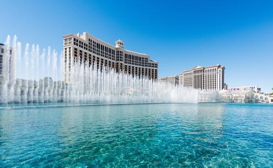 The Bellagio Hotel & Casino in Las Vegas