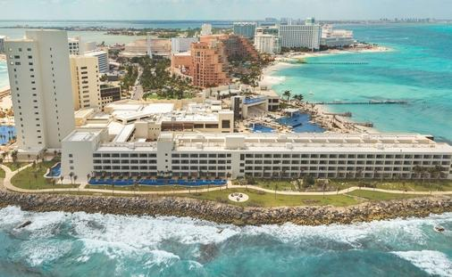 An aerial view of Hyatt Ziva Cancun