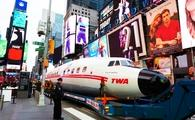 Connie, Times Square, TWA Hotel, plane