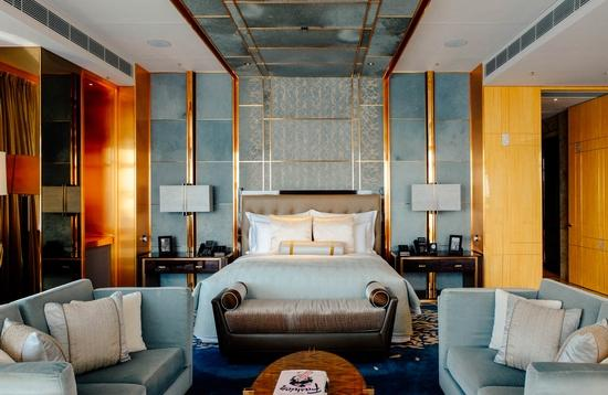 Head over to the Ritz-Carlton, Hong Kong for some of the best views of the city.