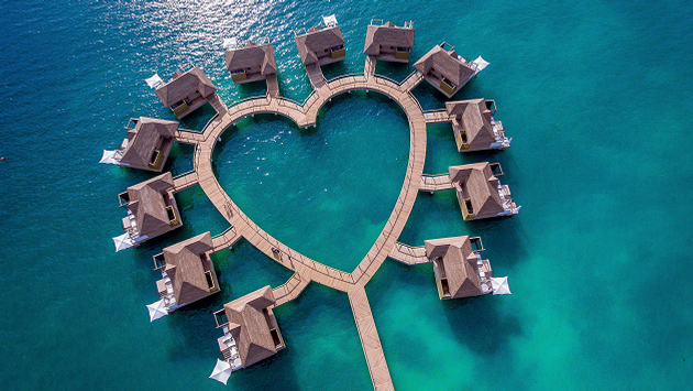 Sandals Overwater Bungalows