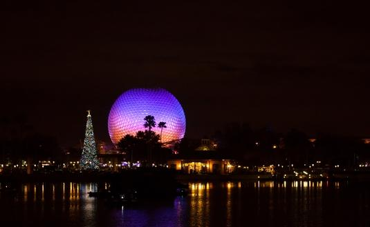 Epcot, Christmas, Disney