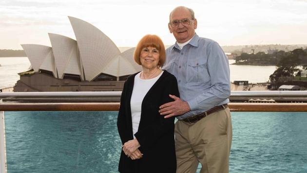 cruise, couple, australia, sydney, opera house