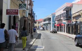 Downtown St. Thomas, U.S. Virgin Islands