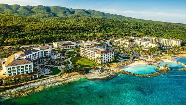 Aerial view of Hyatt Zilaria, Rose Hall, Jamaica