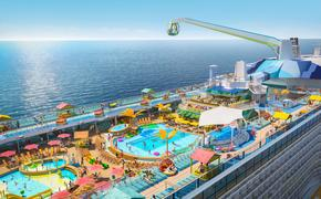 Royal Caribbean's Odyssey of the Seas.