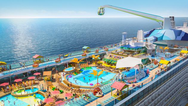 Royal Caribbean's Odyssey of the Seas.
