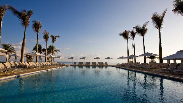 Hilton Rose Hall Resort and Spa pool view