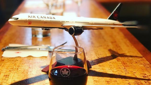 Air Canada Wine Event Gatineau, Quebec