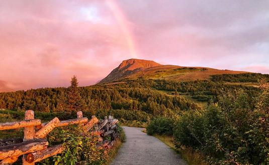 Flattop, Chugach Mountains, Anchorage, Alaska