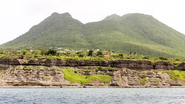 A view of Statia.