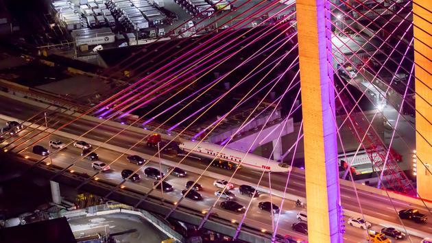 Connie, plane, bridge, NYC