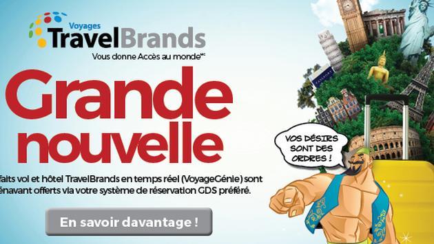 Partenariat SoftVoyage et TravelBrands