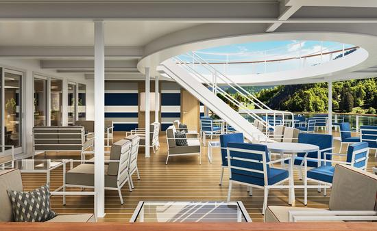American Cruise Line modern riverboat