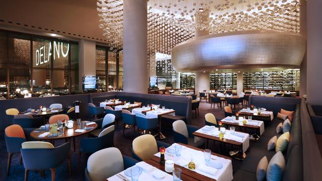 Rivea dining room at Delano Las Vegas