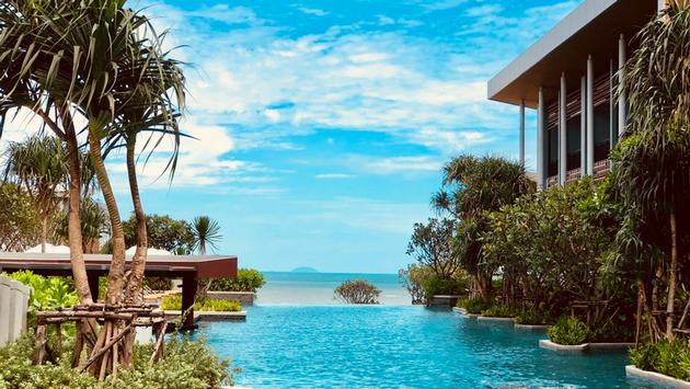 Views of the Gulf of Thailand from the Renaissance Pattaya Resort & Spa