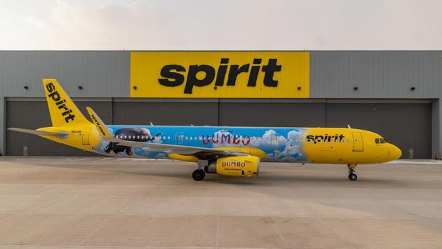 Disney, Spirit, airlines