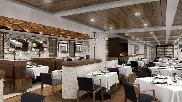 Ember restaurant on Oceania Cruises' Vista.