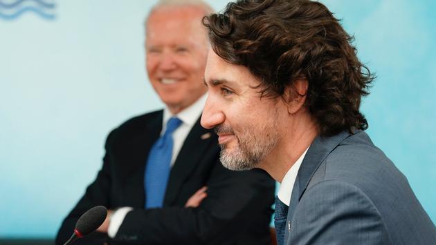 U.S. President Joe Biden and Canadian Prime Minister Justin Trudeau