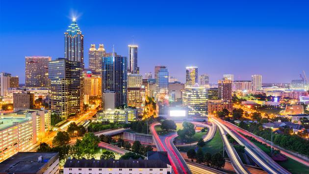 Atlanta, Georgia skyline.