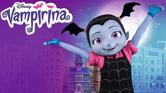 Vampirina, disney, theme park