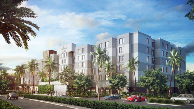 Dual-branded Residence Inn and Spring Hill Suites in Orlando