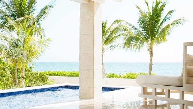 Casita suite with private pool at Beloved Playa Mujeres