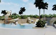 ESTUDIO Playa Mujeres pool