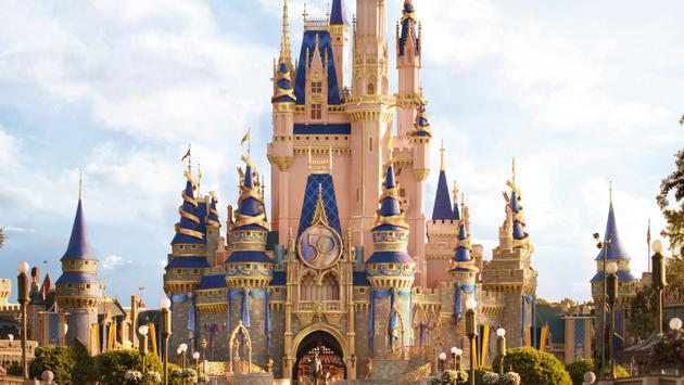 Artist rendering of Cinderella Castle at Magic Kingdom Park