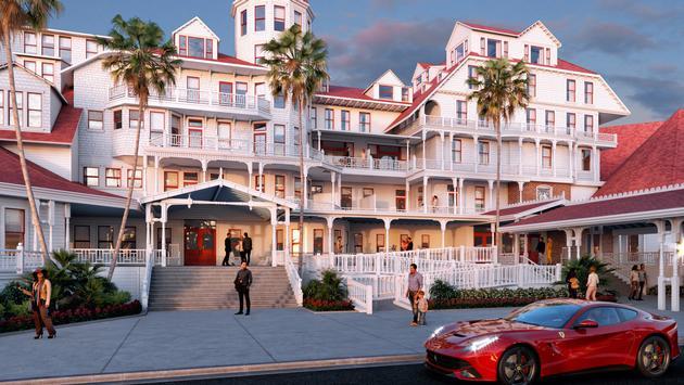 Hotel del Coronado (rendering)