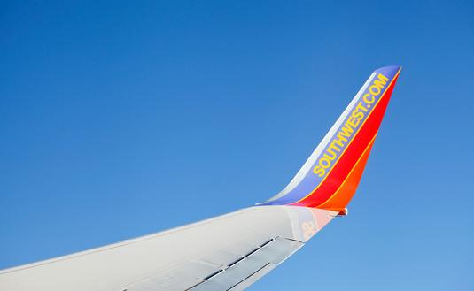 Southwest Airlines Boeing 737 winglet