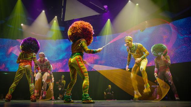 Spectacle SYMA de Cirque du Soleil at Sea