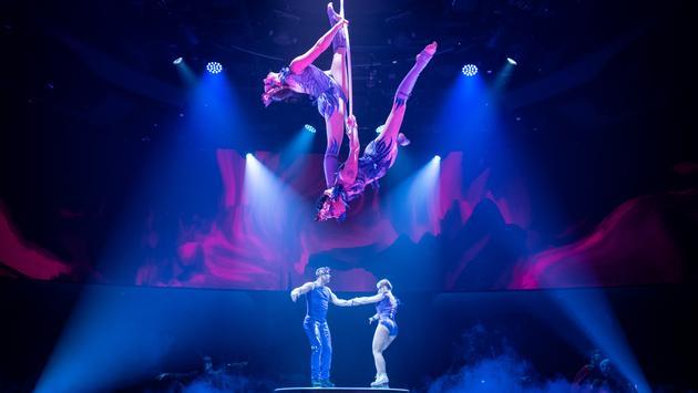 Spectacle VALERIA de Cirque du Soleil at Sea