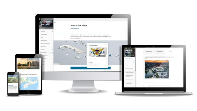 The Travel Institute new e-learning model