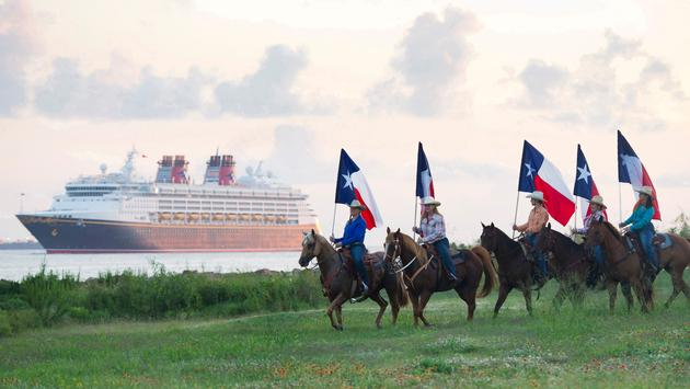The Disney Wonder will then make sailings from Galveston, Texas before heading to San Diego, California