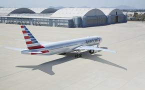 American Airlines' Boeing 777-300.