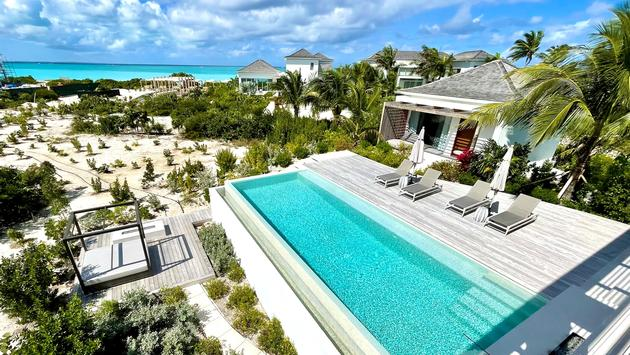 Room view at Beach Enclave Grace Bay