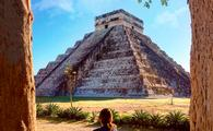 Mayan Pyramid on a Xichen Tour